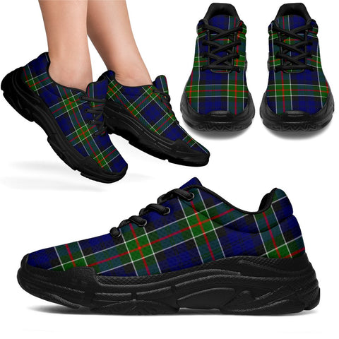 Image of Chunky Sneakers - Tartan Colquhoun Modern Shoes