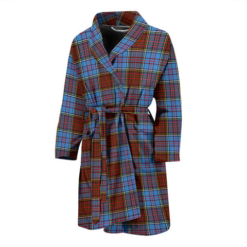 Anderson Modern Bathrobe | Men Tartan Plaid Bathrobe | Universal Fit