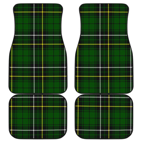 Car Floor Mats - Clan Macalpine Modern Plaid Tartan Car Mats - 4 Pieces