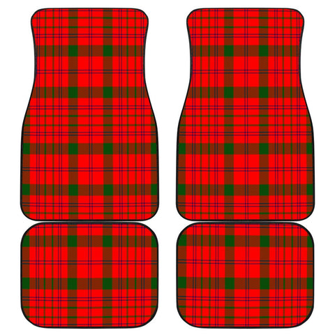 Car Floor Mats - Clan Macdonnell Of Keppoch Modern Plaid Tartan Car Mats - 4 Pieces