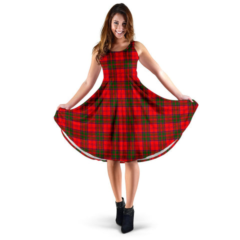 Grant Modern Tartan Women's Dress