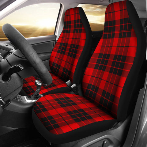Seat Cover - Tartan Macleod Of Raasay Car Seat Cover - Universal Fit