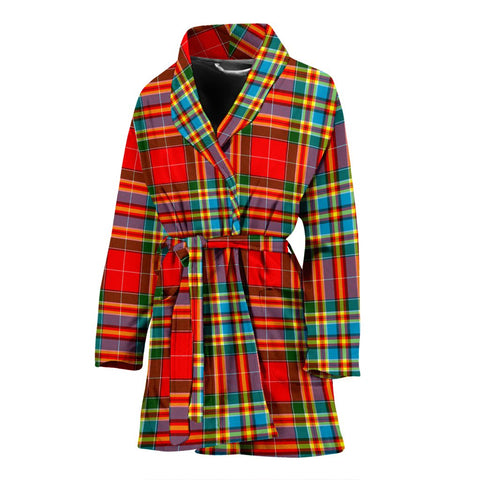 Chattan Bathrobe | Women Tartan Plaid Bathrobe | Universal Fit