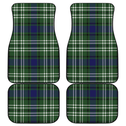 Car Floor Mats - Clan Blyth Tweeside District Plaid Tartan Car Mats - 4 Pieces