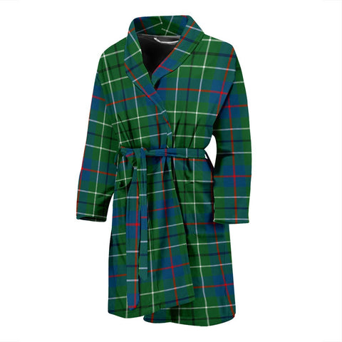 Image of ScottishShop Duncan Ancient Bathrobe | Men Tartan Plaid Bathrobe