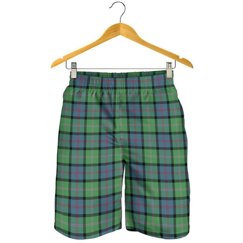 Tartan Mens Shorts - Clan MacThomas Ancient Plaid Shorts