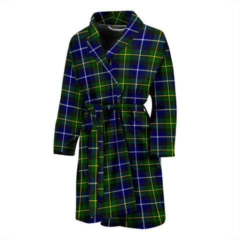 Image of ScottishShop MacNeill Of Barra Modern Bathrobe | Men Tartan Plaid Bathrobe
