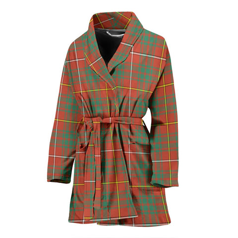 Image of ScottishShop Bruce Ancient Bathrobe | Women Tartan Plaid Bathrobe