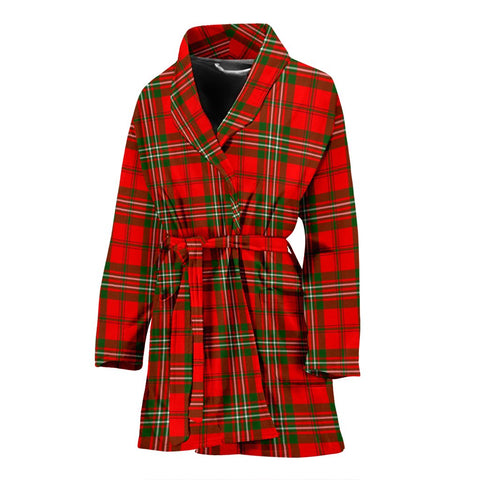 Image of ScottishShop Scott Modern Bathrobe | Women Tartan Plaid Bathrobe