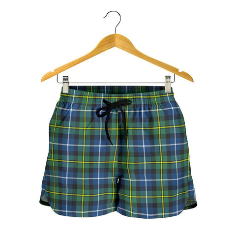 MacNeill of Barra Ancient Tartan Shorts For Women