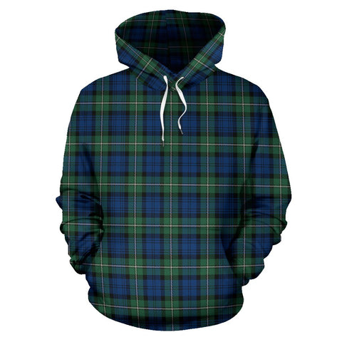 Image of Tartan Clan Forbes Ancient Plaid Hoodie
