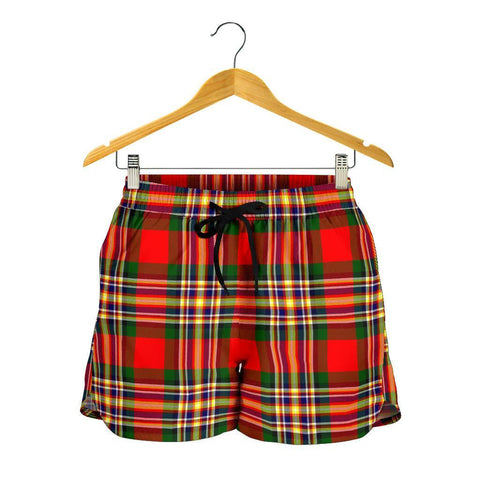 MacGill Modern Tartan Shorts For Women