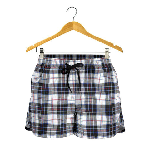 MacRae Dress Modern Tartan Shorts For Women