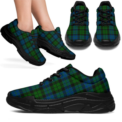 Chunky Sneakers - Tartan MacKay Modern Shoes