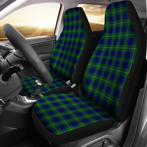 Image of ScottishShop Seat Cover - Tartan Oliphant Modern Car Seat Cover - Universal Fit