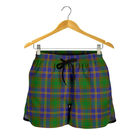 Strange of Balkaskie Tartan Shorts For Women