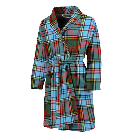Image of ScottishShop Anderson Ancient Bathrobe | Men Tartan Plaid Bathrobe