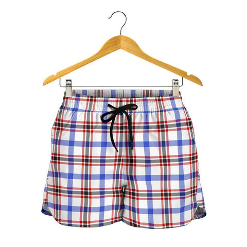Boswell Modern Tartan Shorts For Women