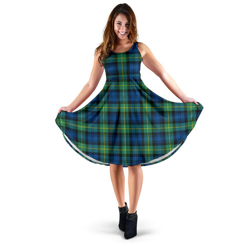 Gordon Ancient Tartan Women's Dress