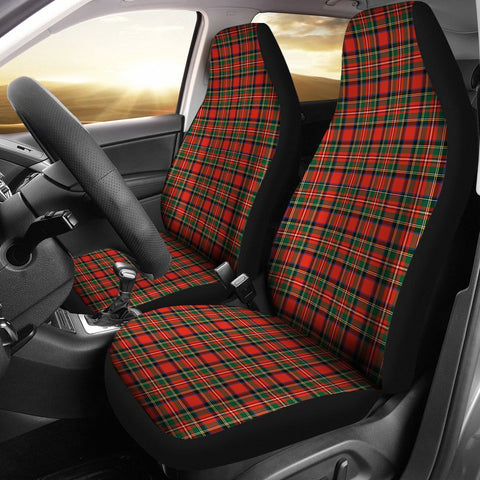 Seat Cover - Tartan Stewart Royal Modern Car Seat Cover - Universal Fit
