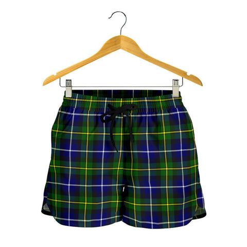 Image of MacNeill of Barra Modern Tartan Shorts For Women