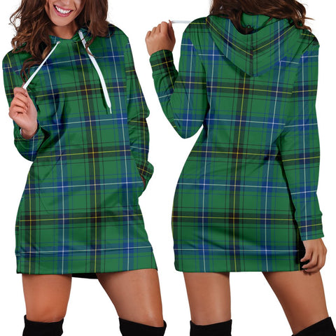 Image of Henderson Ancient , Tartan, For Women, Hoodie Dress For Women, Scottish Tartan, Scottish Clans, Hoodie Dress, Hoodie Dress Tartan, Scotland Tartan, Scot Tartan, Merry Christmas, Cyber Monday, Black Friday, Online Shopping,Henderson Ancient  Hoodie Dress