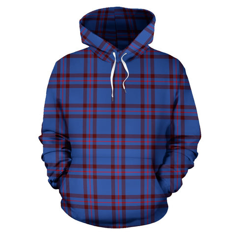 Image of Tartan Clan Elliot Modern Plaid Hoodie
