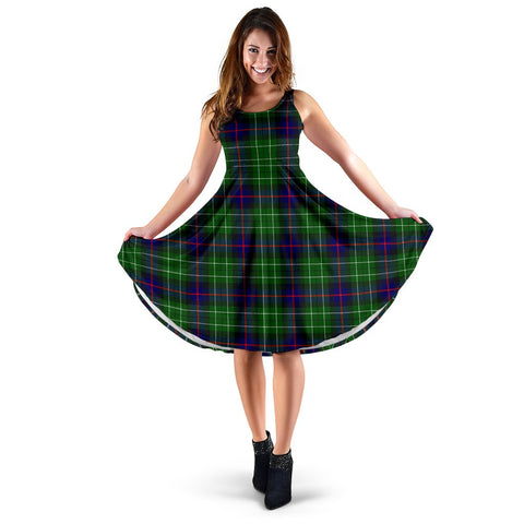 Leslie Hunting Tartan Women's Dress