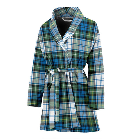 Campbell Dress Ancient Bathrobe | Women Tartan Plaid Bathrobe | Universal Fit