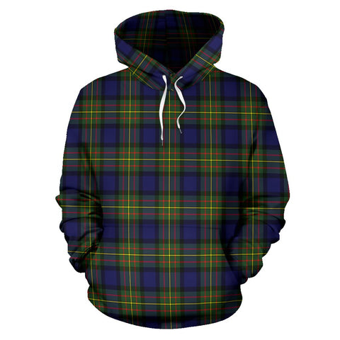Image of Tartan Clan Maclaren Modern Plaid Hoodie