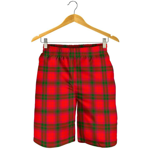Tartan Mens Shorts - Clan MacNab Modern Plaid Shorts