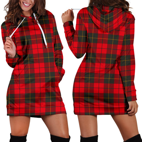 Image of Wallace Weathered, Tartan, For Women, Hoodie Dress For Women, Scottish Tartan, Scottish Clans, Hoodie Dress, Hoodie Dress Tartan, Scotland Tartan, Scot Tartan, Merry Christmas, Cyber Monday, Black Friday, Online Shopping,Wallace Weathered Hoodie Dress