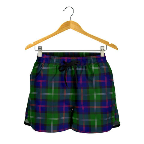 MacThomas Modern Tartan Shorts For Women