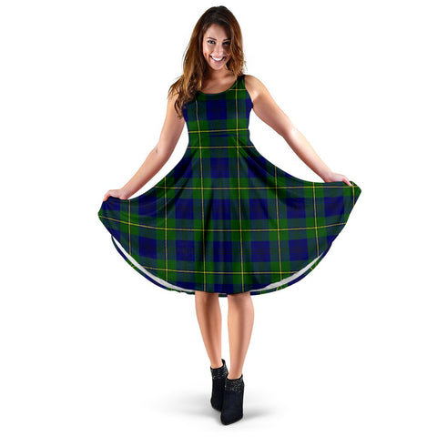 Johnston Modern Tartan Women's Dress