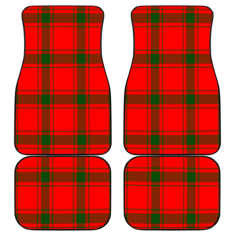 Car Floor Mats - Clan Macdonald Of Sleat Plaid Tartan Car Mats - 4 Pieces