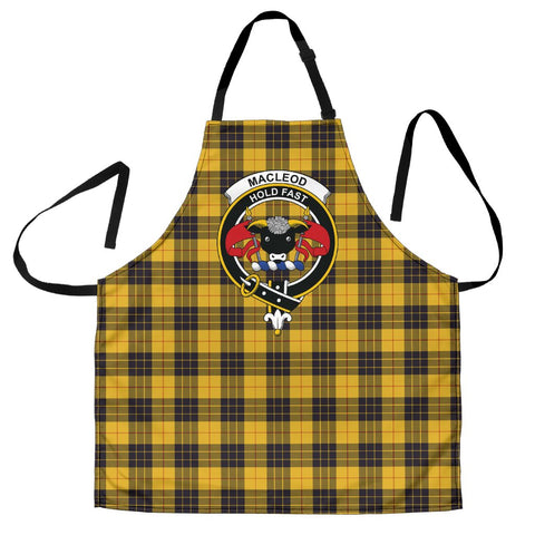 Image of Tartan Apron - MacLeod of Lewis Ancient Apron With Clan Crest HJ4