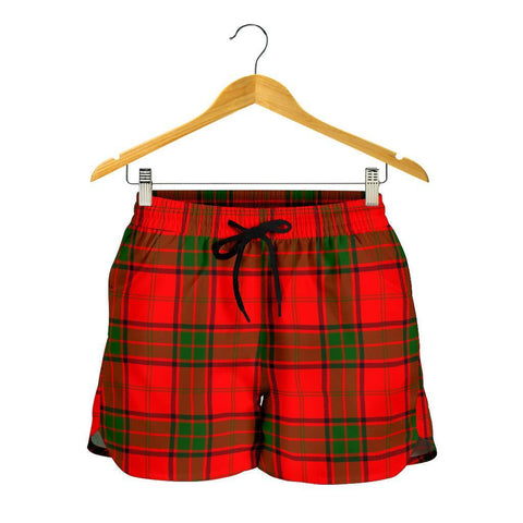Maxwell Modern Tartan Shorts For Women