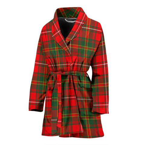 Image of ScottishShop Hay Modern Bathrobe | Women Tartan Plaid Bathrobe