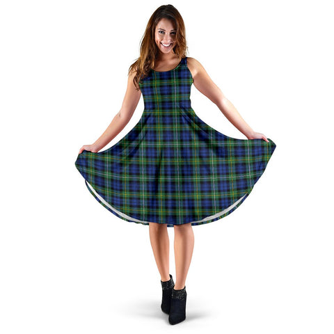 Campbell Argyll Ancient Tartan Women's Dress