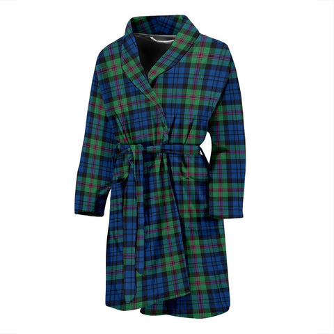 ScottishShop Baird Ancient Bathrobe | Men Tartan Plaid Bathrobe