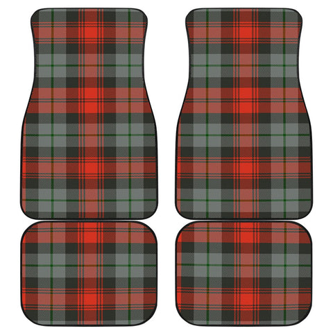 Car Floor Mats - Clan Maclachlan Weathered Plaid Tartan Car Mats - 4 Pieces