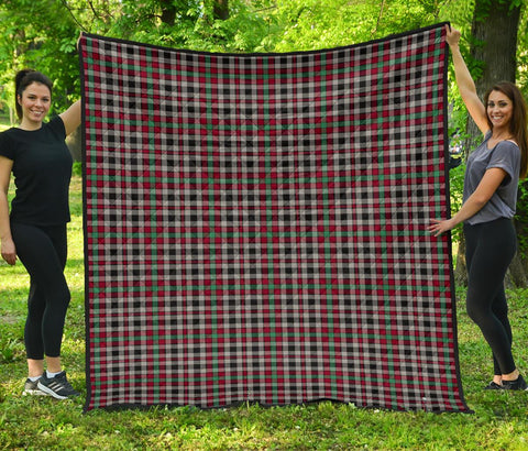 Image of Premium Quilt - Borthwick Ancient Tartan Quilt TH8