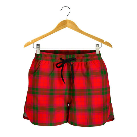 Image of MacNab Modern Tartan Shorts For Women