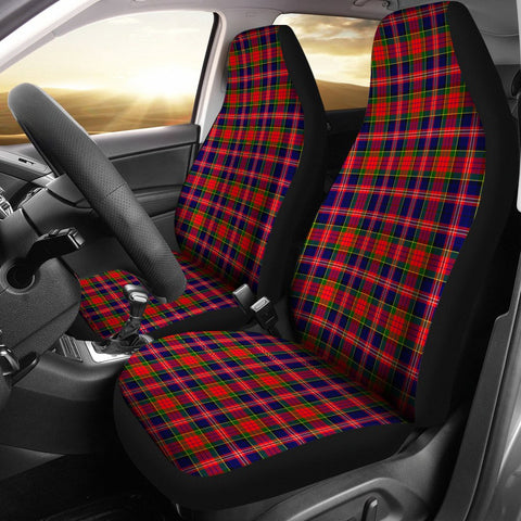ScottishShop Seat Cover - Tartan Macpherson Modern Car Seat Cover - Universal Fit