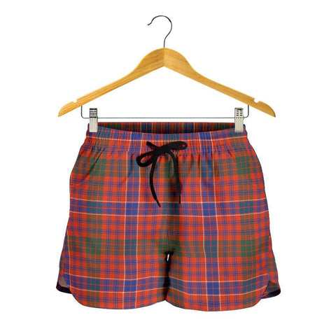 Image of MacRae Ancient Tartan Shorts For Women
