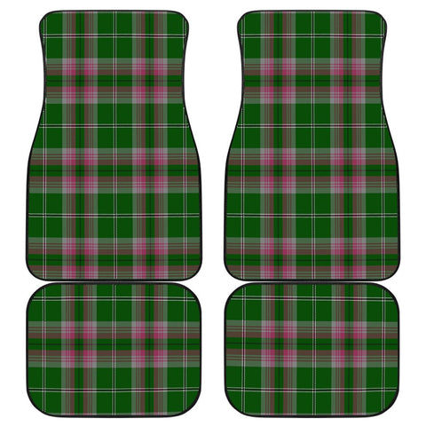 Car Floor Mats - Clan Gray Hunting Plaid Tartan Car Mats - 4 Pieces