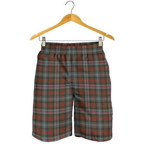 Tartan Mens Shorts - Clan Murray of Atholl Weathered Plaid Shorts
