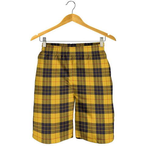 Tartan Mens Shorts - Clan MacLeod of Lewis Ancient Plaid Shorts