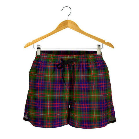 Image of MacDonnell of Glengarry Modern Tartan Shorts For Women