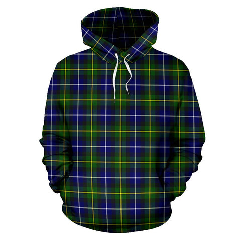 Tartan Clan Macneill Of Barra Modern Plaid Hoodie